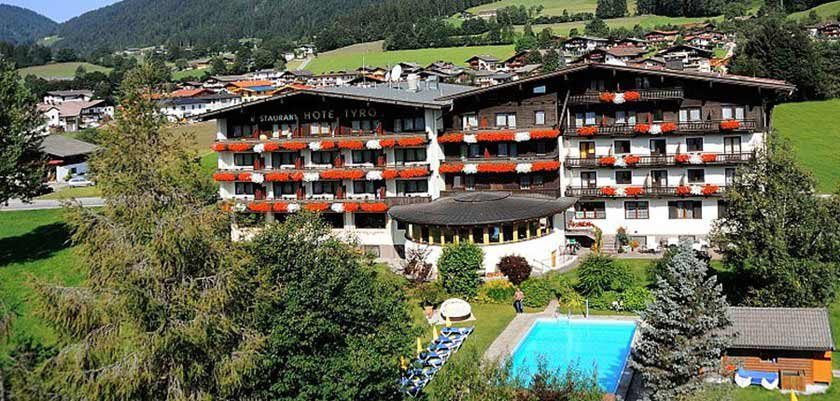 Hotel Tyrol, Söll, Austria - aerial Exterior.jpg